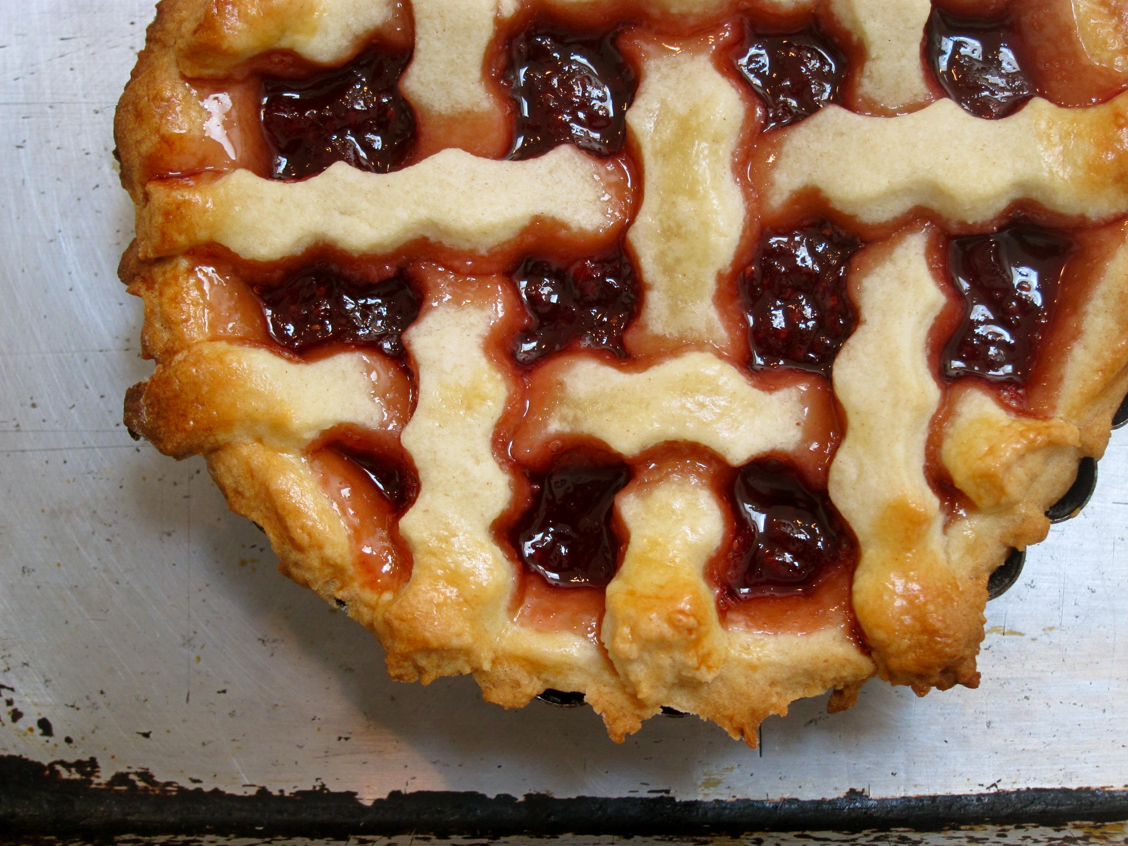Рецепт пирога с вареньем без маргарина и масла с пошагово